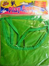 Verde senza maniche Kids Fun PITTURA VERNICE Play Grembiule pulire waterproof-6827