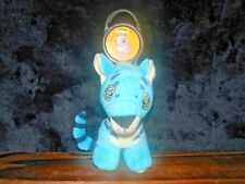 Mcdonalds Neopets Blue Kougra Clip On Zipper Pull Stuffed Tiger Figure Plush Toy