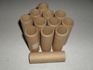 "12 Cardboard Paper Tubes 1"" I.D x 4"" Long"