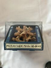 The Bamboozlers Range Puzzles Made From Bamboo