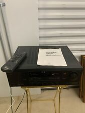 Sony AV Control Integrated Amplifier TA-AV561 W/ Remote & Manual