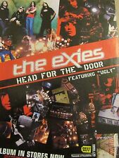 The Exies, Head for the Door, Full Page Promotional Print Ad