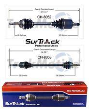 For Dodge Aries Lancer Daytona 600 FWD Pair of Front CV Axle Shafts SurTrack Set