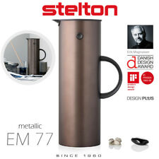 Stelton-em77 Insulating Jug-Dark Brown Metallic 1 L