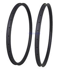 "29"" 36mm XC 28H MTB Carbon Clincher Tubeless Rim UD Matt All Mountain Bike Wheel"