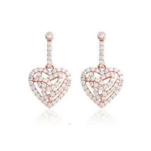 NEW Official Welsh Clogau 18ct Rose Gold Eternal Love Earrings £1900 OFF! *RARE*