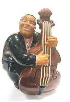 "Vintage Black Americana Collectors  ""BASS MAN""  Cookie Jar"