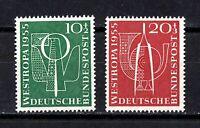 Germany stamps #B342 & 343, complete Bundespost set, MLHOG, VVF, SCV $20.00