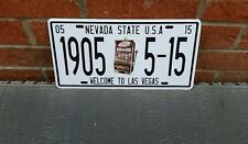 Vintage las vegas nevada state usa licence plate wall decor pub garage bar