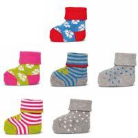 ewers 3er Set Baby-Socken Erstlingssöckchen Graziela Kleeblatt