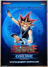 Yu-Gi-Oh! Online Official Konami Promotional Poster, Brand New