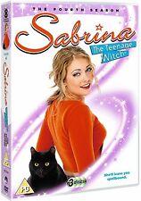 SABRINA THE TEENAGE WITCH : SEASON 4  - DVD - UK Region 2 / sealed