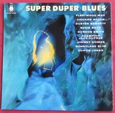 SUPER DUPER BLUES  LP ORIG FR  BLUE HORIZON