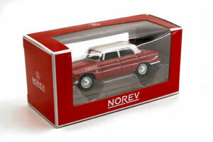 Coche Auto Escala 1:64 Norev Peugeot 404 diecast miniaturas colección Época