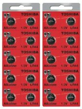 LR44 / AG13 Toshiba 1.5V Alkaline Pack Of 20 Button Cell Batteries EXP 2024