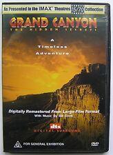 IMAX THEATRES GRAND CANYON THE HIDDEN SECRETS DVD A Timeless Adventure