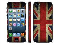 "iPhone SE 5 5S Skin ""UK FLAG"" Sticker Afukleber Designfolie Skins Schutz Folie"