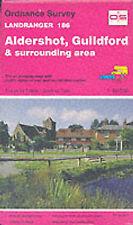 Good, Landranger Maps: Aldershot, Guildford and Surrounding Area Sheet 186 (OS L