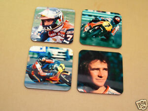 Barry Sheene Motogp Legend Drinks Coaster Set
