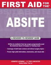 First Aid for Ther Absite First Aid Specialty Boards