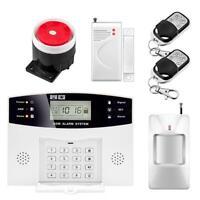 Haus Alarmanlage Wireless Alarmsystem GSM Bewegungsmelder Telefon Sicherheit Set