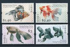 China Hong Kong 2005 Gold Fish stamps