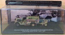"DIE CAST TANK "" CHEVROLET 1533X2 CWT + BREDA MODEL 35 - 1942 "" BLINDATI 036 1/72"