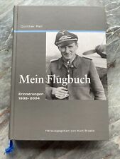 Mein Flugbuch. Günter Rall. Erinnerungen 1938-2004. gebraucht. Top Zustand.