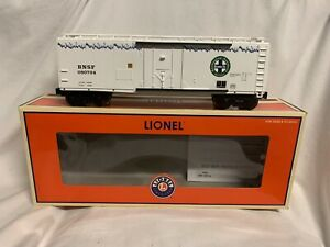 ✅LIONEL BNSF ICICLE REEFER W/ ETD 2004 TTOS 6-52351! ICE COLD EXPRESS EOT STD. O