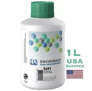 PPG T491 Envirobase 1 Liter High Performance Matting Base Basecoat Paint 1L