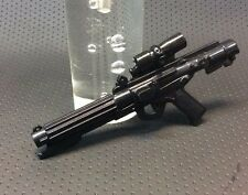 """1:6 Scale Star Wars Imperial Blaster for custom 12"""" Hasbro, Sideshow, Hot Toys"""