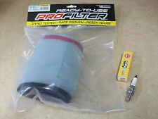 2009-12 SUZUKI LTA 400 LTF 400F KING QUAD TUNE UP KIT AIR FILTER NGK SPARK PLUG
