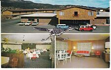 "Ruidoso Downs NM  ""The Chaparral Motor Hotel""  Postcard  New Mexico"