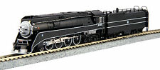 Kato 126-0312 N Scale 4-8-4 GS-4 BNSF Excursion Black Locomotive #4449