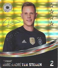 Sammelbild 2 Marc Andre Ter Stegen REWE Glitzer Sticker Fußball EM 2016  Euro #