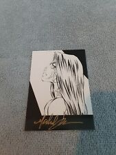 Witchblade Top Cow Autographed / Signed by Michael Turner Exclusive #1 Card 1996
