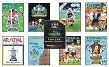 Tottenham Hotspur Football FA Cup Fixture Programmes (1980s)