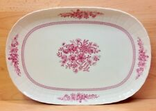 """Hutschenreuther """"Pink Bouquet"""" Pattern Large Serving Plate."""