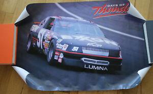 "Days of Thunder Movie #51 Exxon Rowdy Burns -  1990 NASCAR Poster 32""x21"""