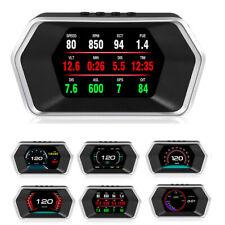 Multi-Function Car OBD Digital Meter & Alarm Fault Gauge Voltage Speed Meter