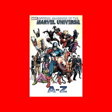 OFFICIAL HANDBOOK OF THE MARVEL UNIVERSE A TO Z VOLUME 2-COMIC BOOK HISTORY%256p