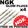 4x NGK NTK Diesel D Heater Glow Plugs For TOYOTA RAV 4 Mk2 2.0 D-4D 01--> #2979