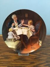 1985 'The Gourmet' Knowles Collector Plate, No Reserve!