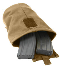 Molle Roll Up Ammo Dump Pouch For Empty Magazines Coyote Brown Rothco 51007
