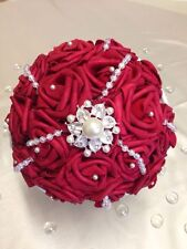 Wedding Red Rose Bouquet