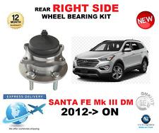 para SANTA FE Cojinete de Rueda Trasera Mk III DM lado derecho 2012->On