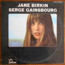 RARE LP JANE BIRKIN & SERGE GAINSBOURG - ORIGINAL BIEM
