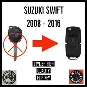 FITS SUZUKI SWIFT REMOTE TRANSPONDER KEY 2008 2010 2011 2012 2013 2014 2015 2016