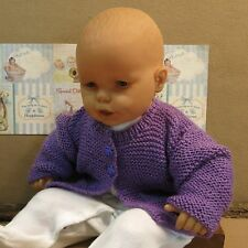 Knitted Baby Clothes, Purple Wool Toddler Jumper, Jackets