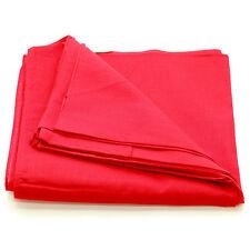 12 pieces(1dozen) Bandanas Head Wrap Scarf 100% cotton Plain Solid RED